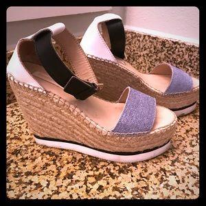 See by Chloe platform sandals.